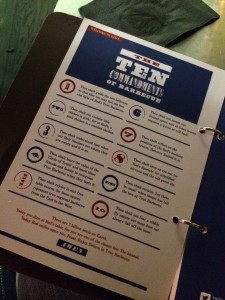 Red's True Barbecue Menu