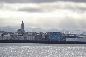 Iceland Skyline on the whale watching tour